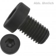 100 Zylinderschrauben M6 x 20mm - Innensechskant - DIN 7984 - 8.8 Stahl