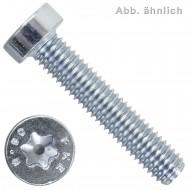 100 Zylinderschrauben M8 x 20 mm - DIN 7984 - TX40 - 8.8 verzinkt