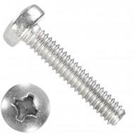 1000 Linsenschrauben M2 x 10 mm - DIN 7985 - PH - Edelstahl A2