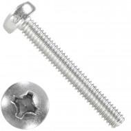 1000 Linsenschrauben M2,5 x 18 mm - DIN 7985 - PH - Edelstahl A2