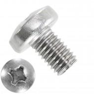 200 Linsenschrauben M8 x 12 mm - DIN 7985 - PH - Edelstahl A2