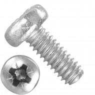 1000 Linsenschrauben M2 x 5 mm - DIN 7985 - PZ - Edelstahl A2