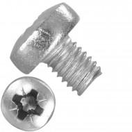 500 Linsenschrauben M3 x 4 mm - DIN 7985 - PZ - Edelstahl A2