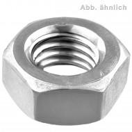 50 Sechskantmuttern Mf20 - Feingewinde 1,5 mm - SW30 - Stahl 6.0 - DIN 934