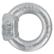 3 Ringmuttern DIN 582 galvanisch verzinkt C15E für M12