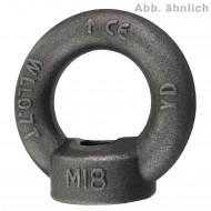 25 Ringmuttern DIN 582 C15E M6