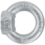 1 Ringmutter DIN 582 - M20 - C15E Stahl - galvanisch verzinkt
