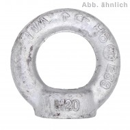 1 Ringmutter DIN 582 C15E feuerverzinkt für M20