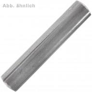 100 Kegelkerbstifte 6 x 30 mm - DIN 1471 - Edelstahl A1