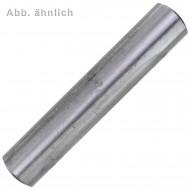 100 Zylinderstifte DIN 7 - ISO 2338 Toleranzfeld m6 Stahl 4 x 12mm