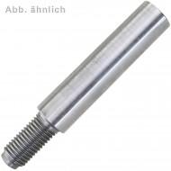 1 Kegelstift 16 x 100 - DIN 258 - mit Gewindezapfen - blank
