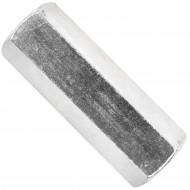 10 Verbindungsmuttern - Distanzmuttern Sechskant ver. 12x50