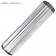 25 Zylinderstifte mit Innengewinde 6 x 28 mm - DIN 7979 Form D