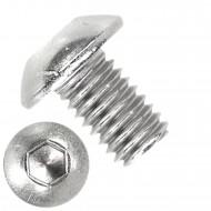 1000 Linsenschrauben mit Innensechskant M3 x 05mm - ISO 7380-1 - Edelstahl A2