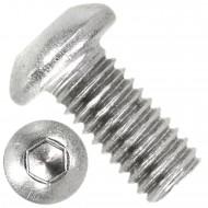 500 Linsenschrauben mit Innensechskant M6 x 12mm - ISO 7380-1 - Edelstahl A2