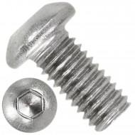 500 Linsenschrauben mit Innensechskant M6 x 12mm - ISO 7380-1 - Edelstahl A4