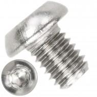 500 Linsenschrauben M6 x 08mm - ISO 7380-1 - TX 30 - Edelstahl A2