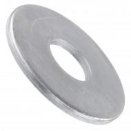 100 Unterlegscheiben DIN 9021 - für M14 - Aussen-Ø = 44 mm - galvanisch verzinkt