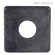 100 Vierkantscheiben für M10 - DIN 436 - blank