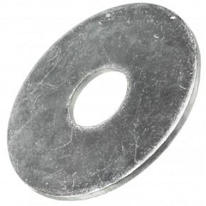 200 Stück Kotflügelscheiben galv.verzinkt für M10, 10,5 x 35 mm, Dicke 1,5 mm