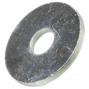 200 Stück Kotflügelscheiben galv.verzinkt für M4, 4,3 x 15 mm, Dicke 1,25 mm