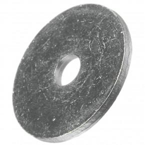 200 Stück Kotflügelscheiben galv.verzinkt für M4, 4,3 x 20 mm, Dicke 1,25 mm
