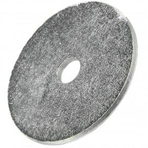 200 Stück Kotflügelscheiben galv.verzinkt für M4, 4,3 x 25 mm, Dicke 1,25 mm