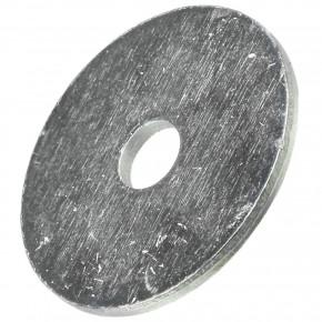 200 Stück Kotflügelscheiben galv.verzinkt für M5, 5,3 x 25 mm, Dicke 1,5 mm