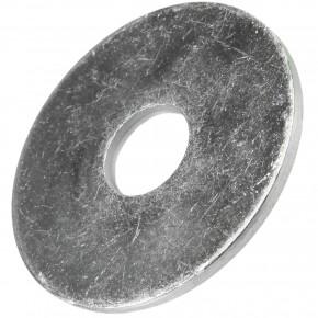 200 Stück Kotflügelscheiben galv.verzinkt für M8, 8,4 x 30 mm, Dicke 1,5 mm