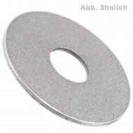 200 Kotflügelscheiben - Innen-Ø: 12,5 mm Außen-Ø: 30mm - Stahl