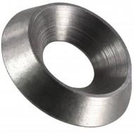50 Rosettenscheiben M10 - Edelstahl A1 - Werkstoff 1.4305