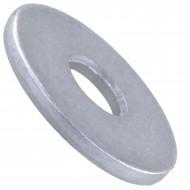 100 Unterlegscheiben DIN 440 Form R - für M5 - Aussen-Ø=18mm - verzinkt