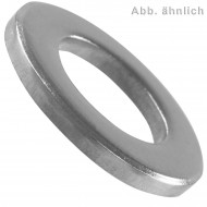 1000 U-Scheiben DIN 125 Form B Edelstahl A2 5,3 mm für M5
