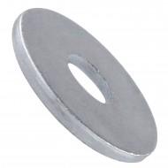 100 Unterlegscheiben DIN 9021 für M6- Aussen-Ø = 18 mm - Edelstahl A2