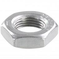 100 Sechskantmuttern - M12 - Feingewinde 1mm - niedrig, Form B - A2 - DIN 439