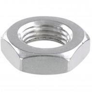 50 Sechskantmuttern - M12 - Feingewinde 1,5mm - niedrig, Form B - A2 - DIN 439