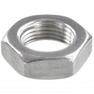 10 Sechskantmuttern - M18 - Feingewinde 1mm - niedrig, Form B - A2 - DIN 439