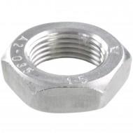 50 Sechskantmuttern - M20 - Feingewinde 1,5mm - niedrig, Form B - A2 - DIN 439