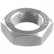 25 Sechskantmuttern - M24 - Feingewinde 1,5mm - niedrig, Form B - A2 - DIN 439