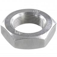25 Sechskantmuttern - M27 - Feingewinde 1,5mm - niedrig, Form B - A2 - DIN 439