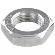 10 Sechskantmuttern - M30 - Feingewinde 2mm - niedrig, Form B - A2 - DIN 439