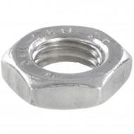 200 Sechskantmuttern - M8 - Feingewinde 1mm - niedrig, Form B - A2 - DIN 439