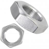 25 Sechskantmuttern - M27 - Feingewinde 2mm - niedrig, Form B - A2 - DIN 439