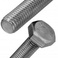 200 Sechskantschrauben M5 x 30 mm - Edelstahl A2 - SW 8 - DIN 933