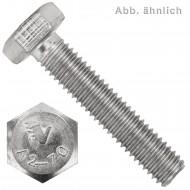 100 Sechskantschrauben M5 x 8 mm - Edelstahl A2 - SW 8 - DIN 933