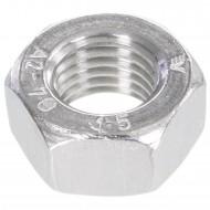 100 Sechskantmuttern Mf10 - SW17 - Feingewinde 1,25mm - Edelstahl A2 - DIN 934