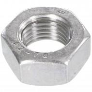 50 Sechskantmuttern Mf12 - SW19 - Feingewinde 1,5mm - Edelstahl A2 - DIN 934