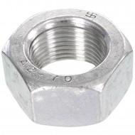 50 Sechskantmuttern Mf20 - SW30 - Feingewinde 1,5mm - Edelstahl A2 - DIN 934