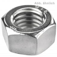100 Sechskantmuttern 1-4 Zoll - UNC - Edelstahl A4 - DIN 934