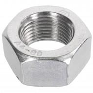 50 Sechskantmuttern Mf18 - SW27 - Feingewinde 1,5mm - Edelstahl A4 - DIN 934